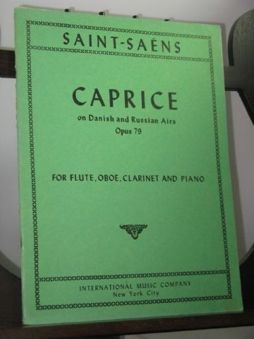 Saint Saens C - Caprice on Danish and Russian Airs Op 79